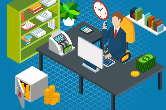 経理業務のイメージ画像